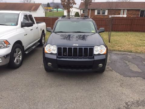 2010 Jeep Grand Cherokee for sale at HEWITT PRE-OWNED INC in Craigsville WV