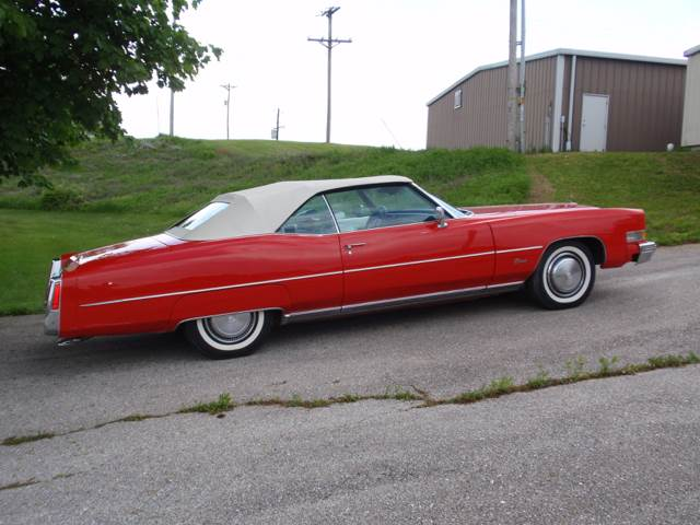 1974 Cadillac Eldorado for sale at The Best Muscle Cars in Clarksburg MD