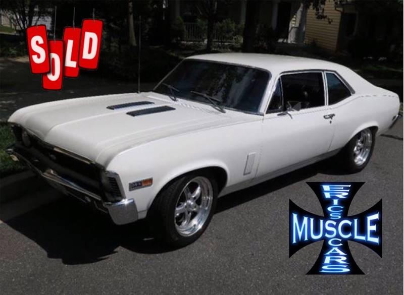 1969 Chevrolet Nova SOLD SOLD SOLD