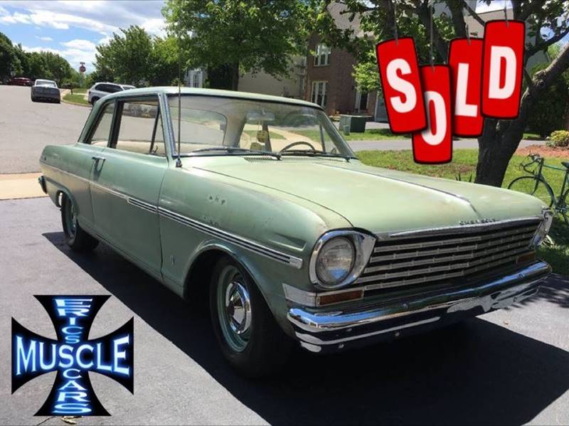 1963 Chevrolet Nova SOLD SOLD SOLD