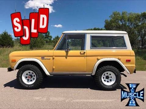 1973 Ford Bronco for sale at The Best Muscle Cars in Clarksburg MD