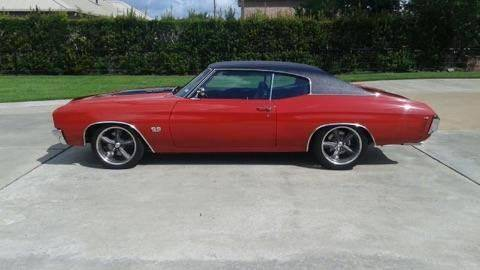 1970 Chevrolet Chevelle for sale at The Best Muscle Cars in Clarksburg MD