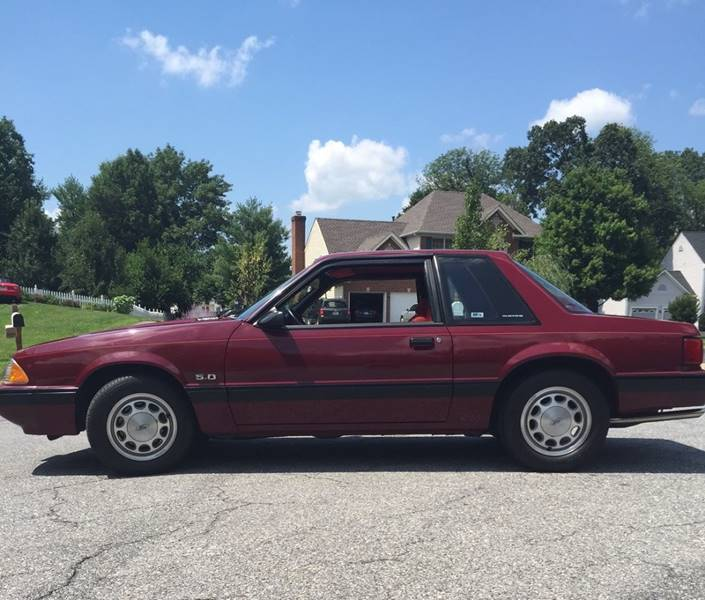 1989 Ford Mustang for sale at The Best Muscle Cars in Clarksburg MD