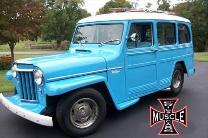 1953 Willys Pro Street Wagon