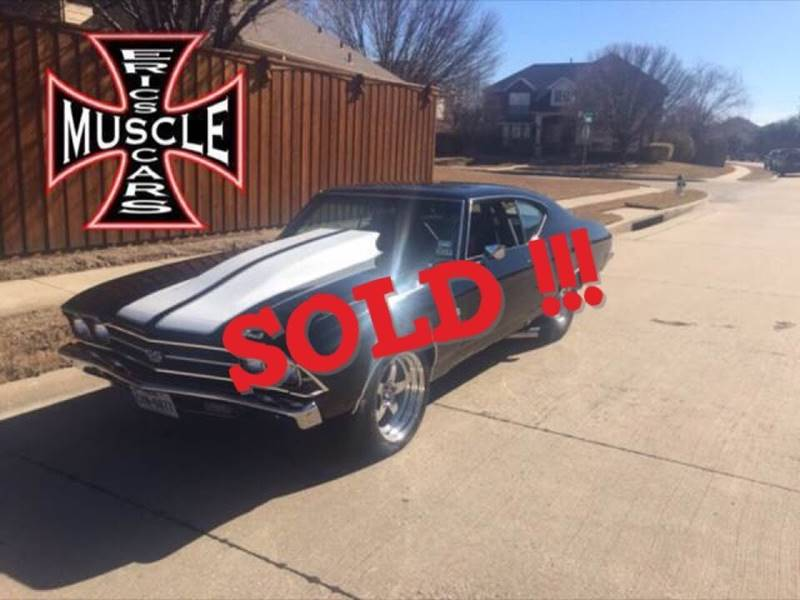 1969 Chevrolet Chevelle SOLD SOLD SOLD