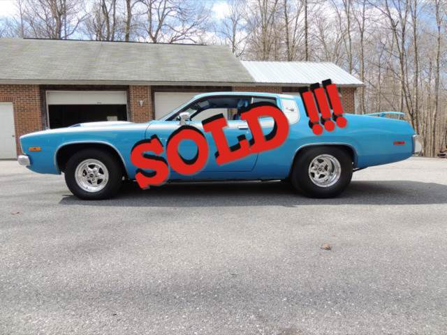 1973 Plymouth Roadrunner SOLD SOLD SOLD