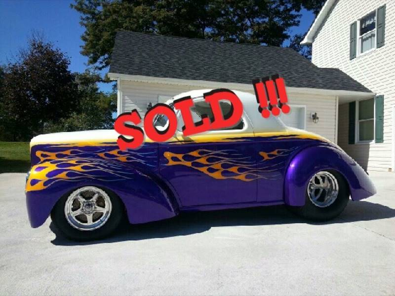 1941 Willys Outlaw SOLD SOLD SOLD