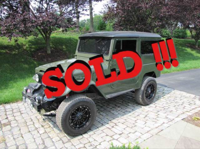 1977 Toyota Land Cruiser SOLD SOLD SOLD