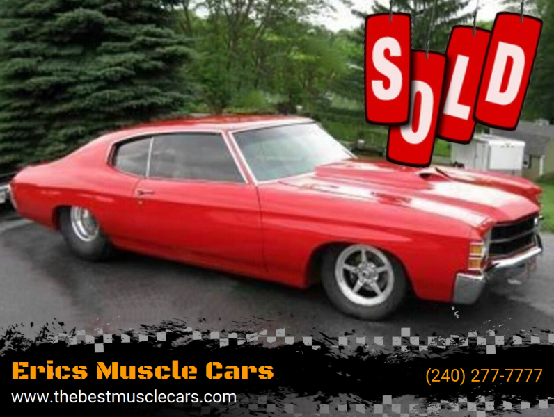 1971 Chevrolet PRO STREET Chevelle SOLD SOLD SOLD