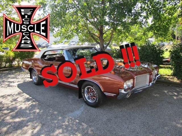 1971 Oldsmobile Cutlass SOLD SOLD SOLD