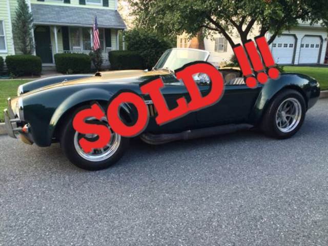 1966 Shelby  SOLD SOLD SOLD