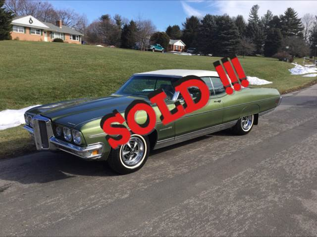 1970 Pontiac Bonneville SOLD SOLD SOLD