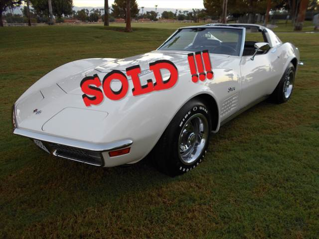 1971 Chevrolet Corvette SOLD SOLD SOLD