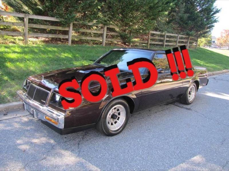1986 Buick Regal SOLD SOLD SOLD