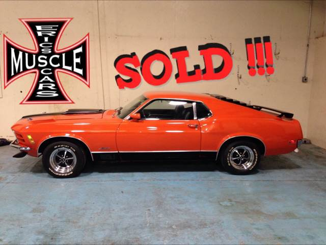 1970 Ford Mustang Mach 1 SOLD SOLD SOLD