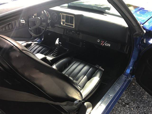 1981 Chevrolet Camaro for sale at The Best Muscle Cars in Clarksburg MD