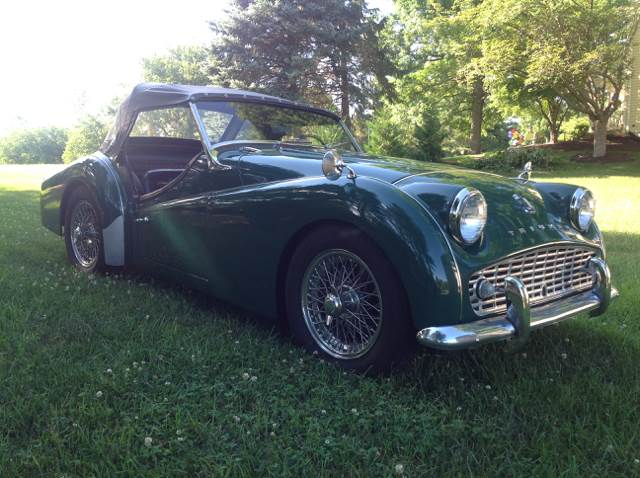 1961 Triumph TR4 for sale at The Best Muscle Cars in Clarksburg MD