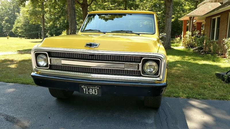 1970 Chevrolet CK10 for sale at The Best Muscle Cars in Clarksburg MD