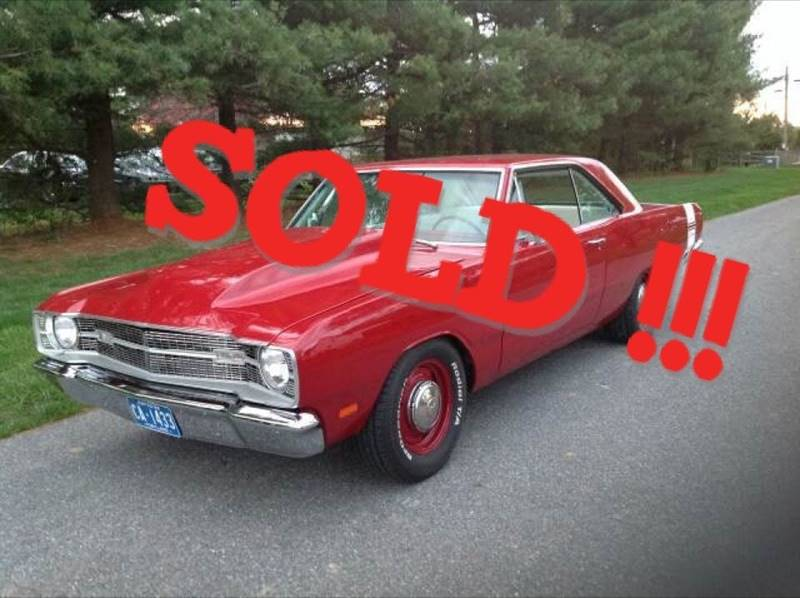 1969 Dodge Dart SOLD SOLD SOLD