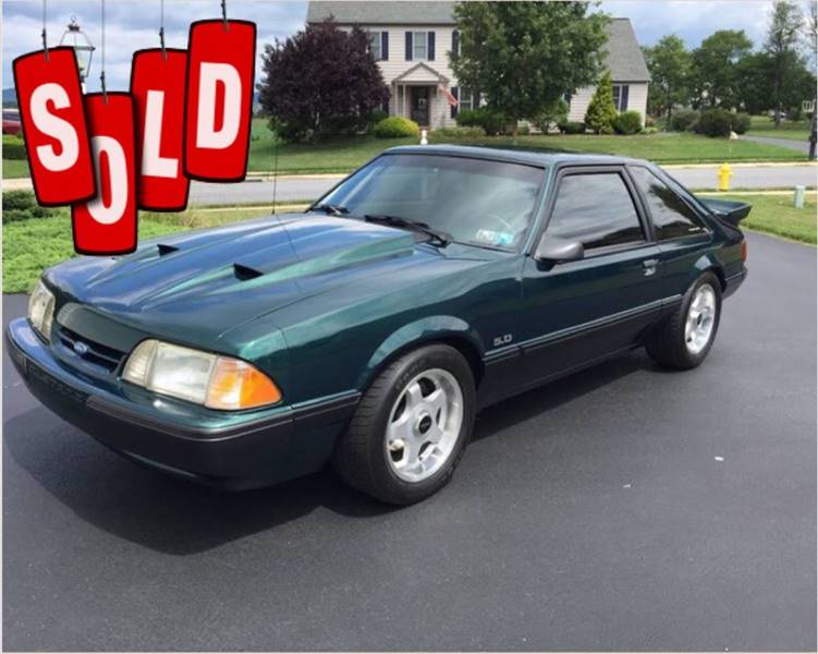 1991 Ford Mustang LX SOLD SOLD SOLD