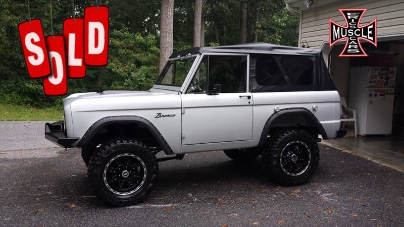 1966 Ford Bronco SOLD SOLD SOLD