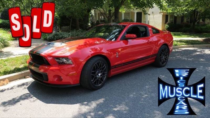 2013 Ford Shelby GT500 SOLD SOLD SOLD