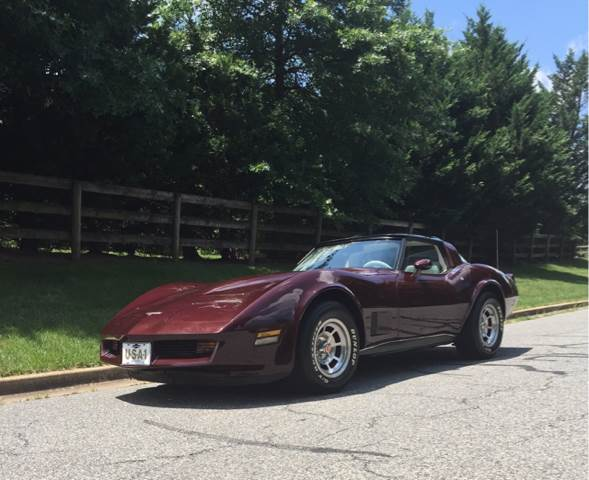 1980 Chevrolet Corvette for sale at The Best Muscle Cars in Clarksburg MD