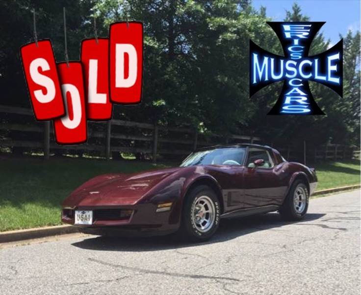 1980 Chevrolet Corvette SOLD SOLD SOLD