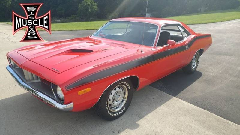 1972 Plymouth Barracuda for sale at The Best Muscle Cars in Clarksburg MD