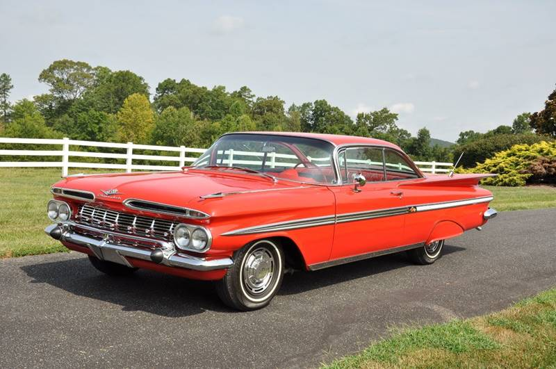 1959 Chevrolet Impala for sale at The Best Muscle Cars in Clarksburg MD