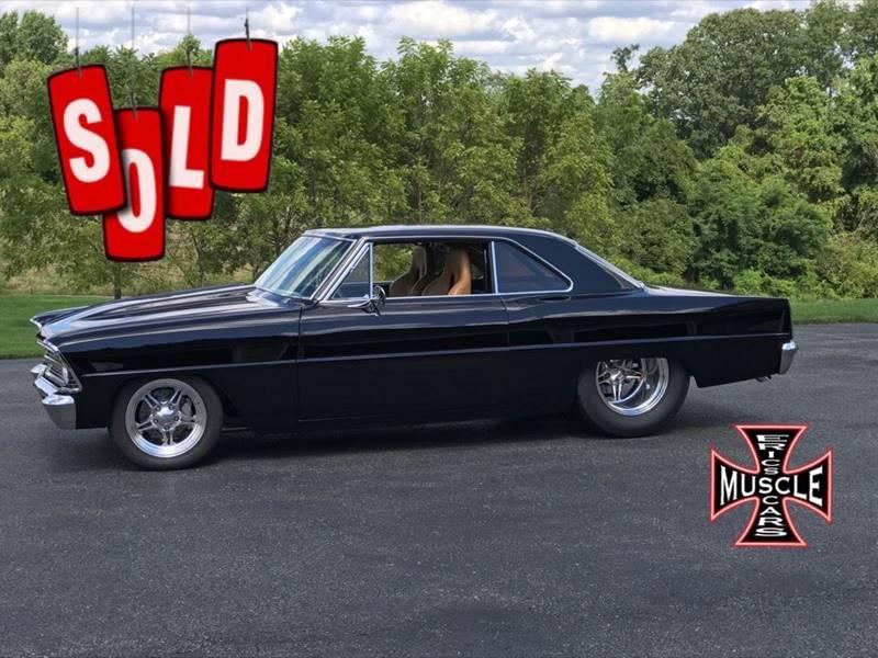 1966 Chevrolet Pro Street Nova SOLD SOLD SOLD