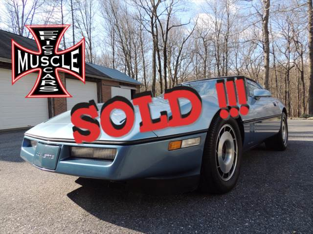 1985 Chevrolet Corvette SOLD SOLD SOLD