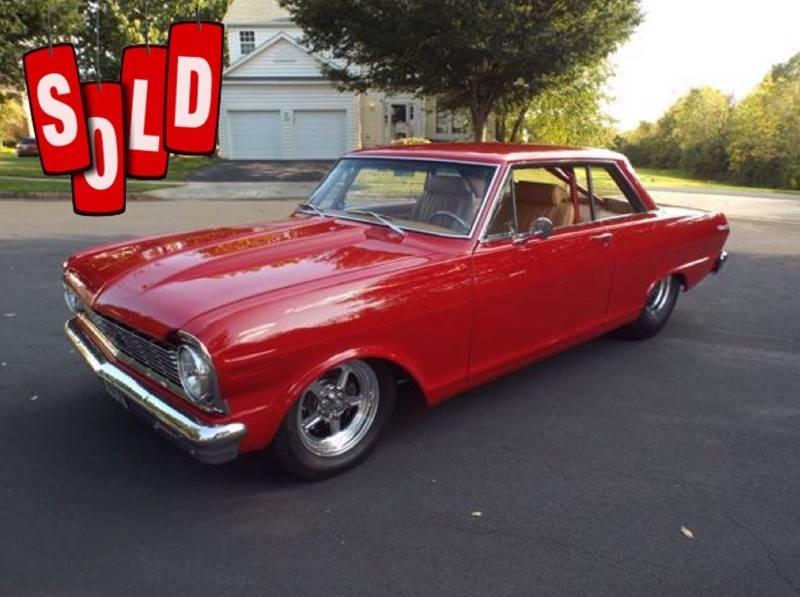 1965 Chevrolet Pro Street Nova SOLD SOLD SOLD
