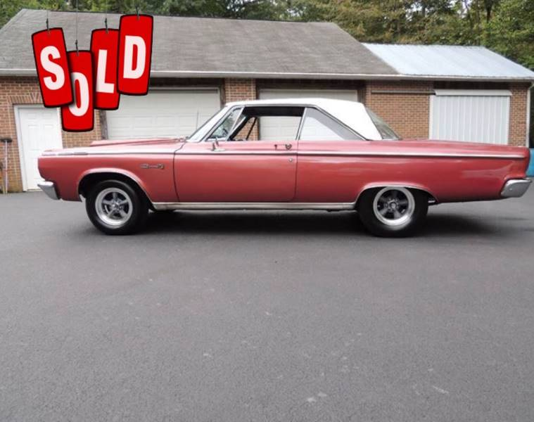1965 Dodge Coronet SOLD SOLD SOLD