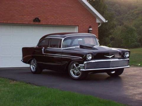 1956 Chevrolet Bel Air for sale at The Best Muscle Cars in Clarksburg MD