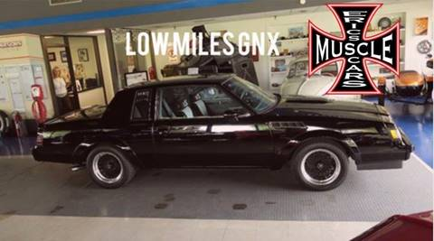 1987 Buick Regal for sale at The Best Muscle Cars in Clarksburg MD