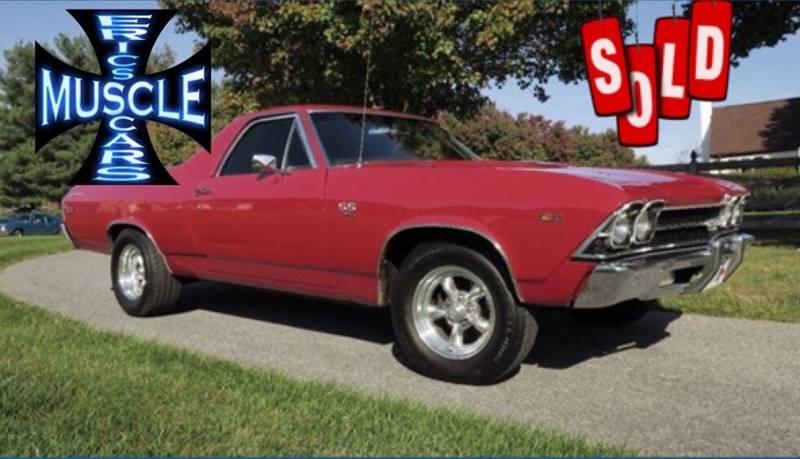 1969 Chevrolet El Camino SOLD SOLD SOLD