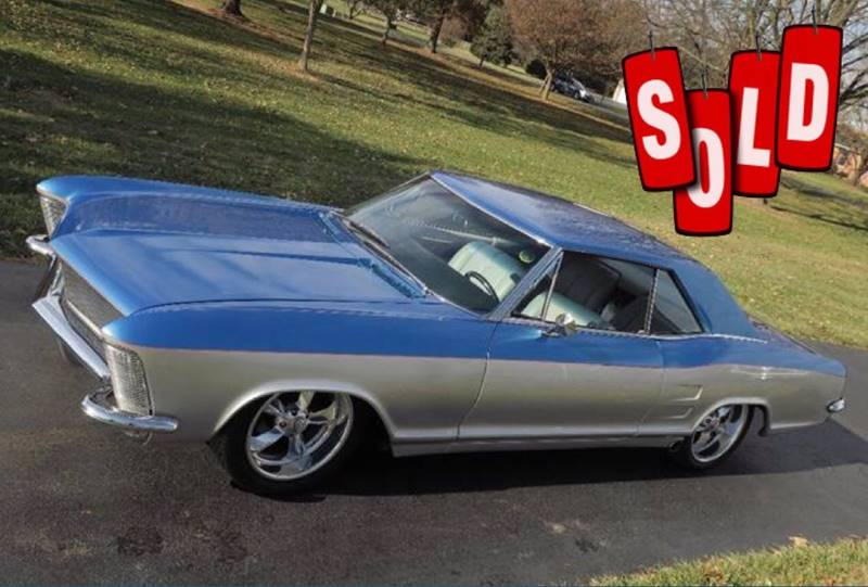 1963 Buick Riviera SOLD SOLD SOLD