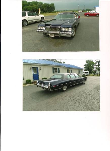 1973 Cadillac Fleetwood Limousine SOLD SOLD SOLD
