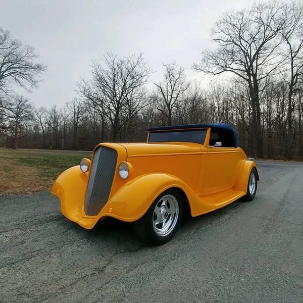 1934 Chevrolet Roadmaster Cabriolet