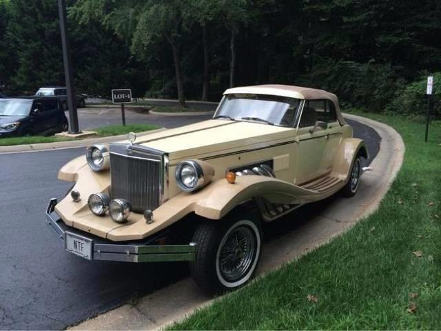 1982 Clenet Series II for sale at The Best Muscle Cars in Clarksburg MD