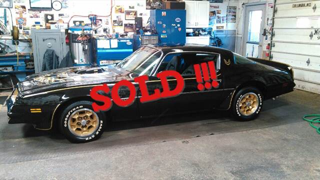 1976 Pontiac Trans Am SOLD SOLD SOLD