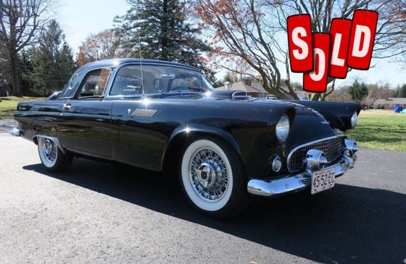 1956 Ford Thunderbird SOLD SOLD SOLD