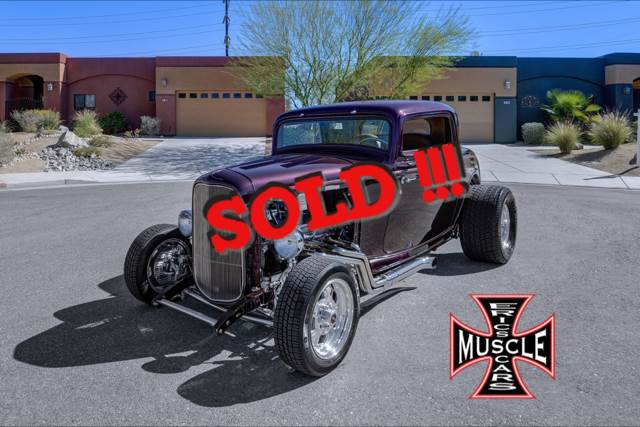 1932 Ford Street Rod SOLD SOLD SOLD
