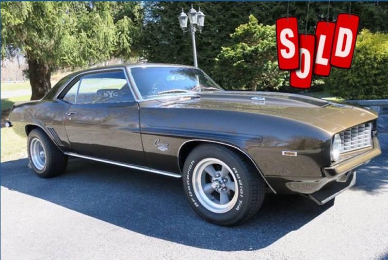 1969 Chevrolet Yenko Camaro SOLD SOLD SOLD