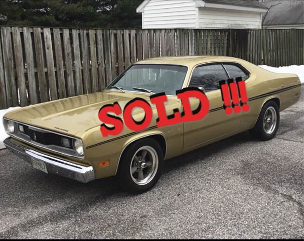 1970 Plymouth Duster SOLD SOLD SOLD