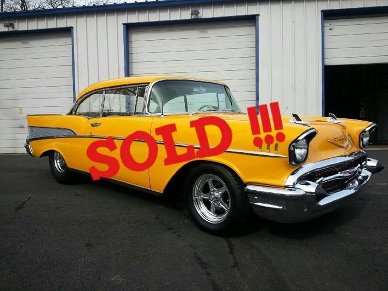 1957 Chevrolet Bel Air SOLD SOLD SOLD