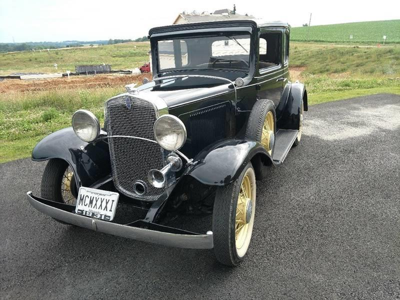 1931 Chevrolet 5 WINDOW COUPE