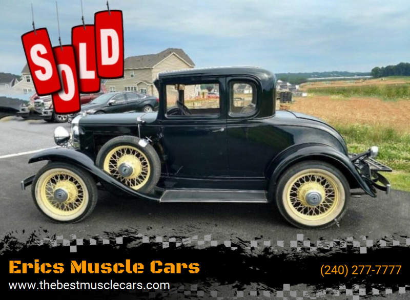 1931 Chevrolet 5 WINDOW COUPE SOLD SOLD SOLD