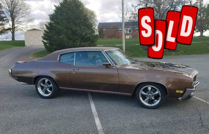 1970 Buick GS SOLD SOLD SOLD
